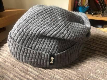 winter ribcap off head